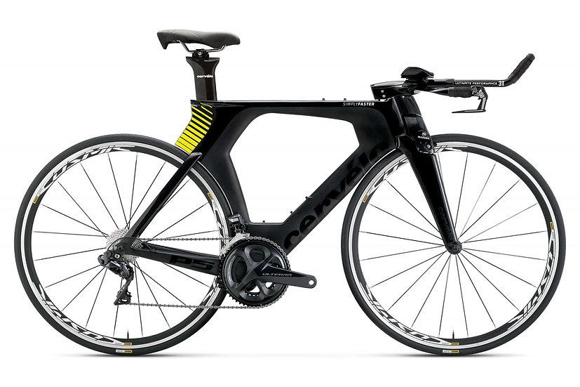 Велосипед для раздельного старта и триатлона Cervelo P5 Ultegra Di2 2019