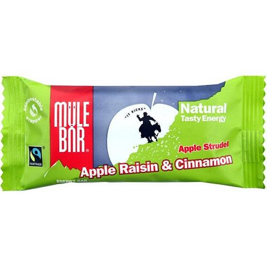 Mule bar злаковый батончик, с яблоком, изюмом и корицей (40г.)