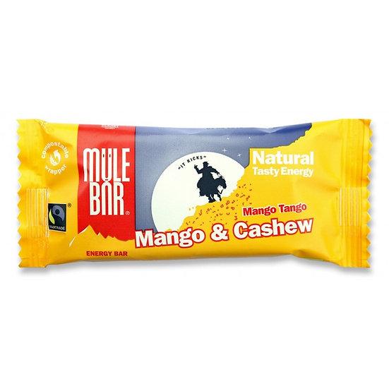 Mule bar органический злаковый батончик,  манго и кешью  (40 г.)
