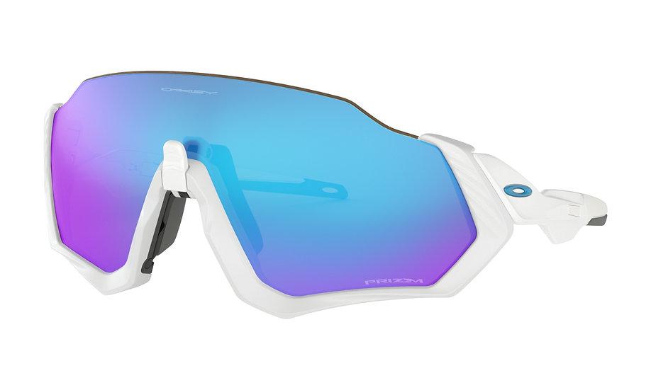 Солнцезащитные очки Oakley Flight Jacket Matte White Prizm Sapphire