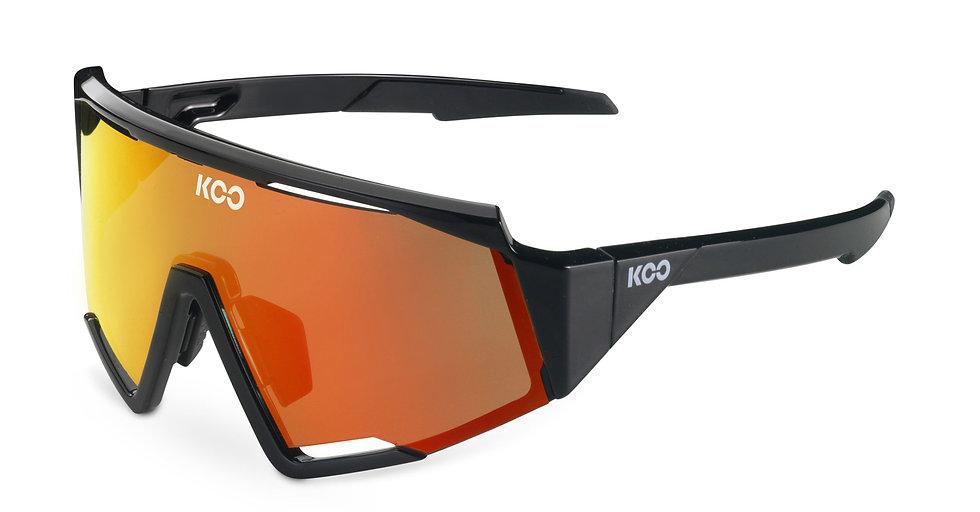 Очки солнцезащитные KOO SPECTRO (Black/Red Mirror)