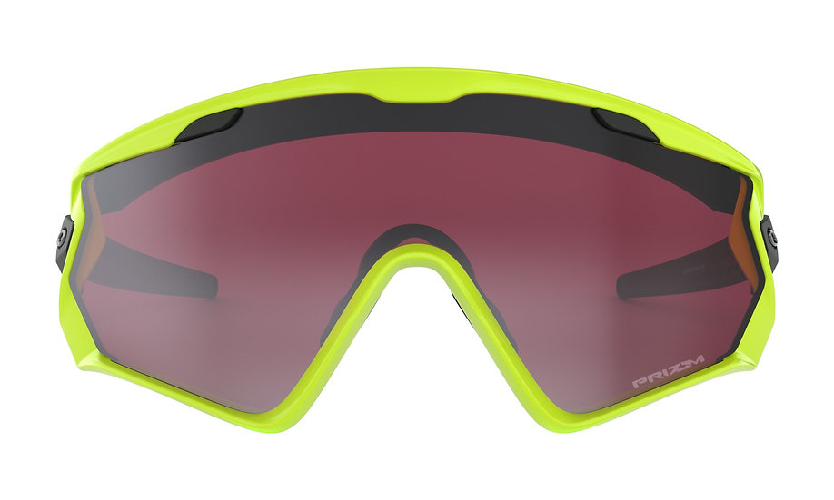 Очки Oakley Wind Jacket 2.0 Neon Retina/Prizm Snow Black
