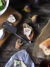 Baguette and Cheeses...