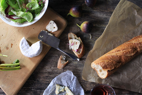 Baguette con queso