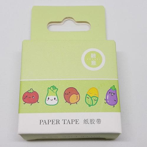Washi tape legumes
