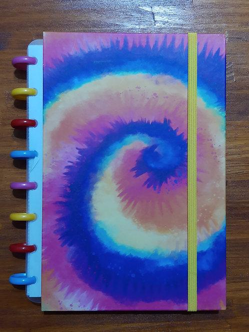 Caderno Criativo Tie Dye Summer