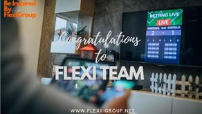 Congratulations to FLEXI TEAM !!