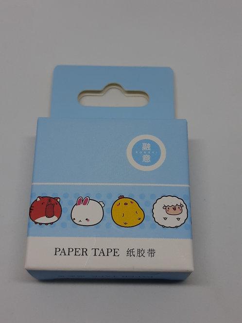 Washi tape bichinhos