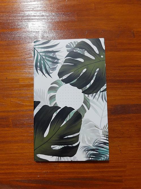 Caderneta capa flexível pontilhada