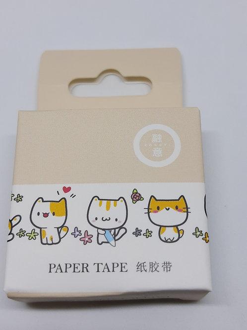Washi tape gatinhos