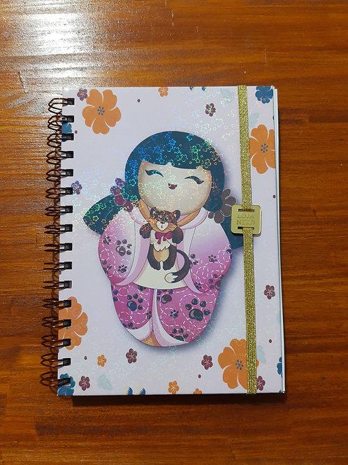 Caderno Kokeshi