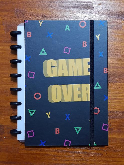 Caderno Criativo Game Over