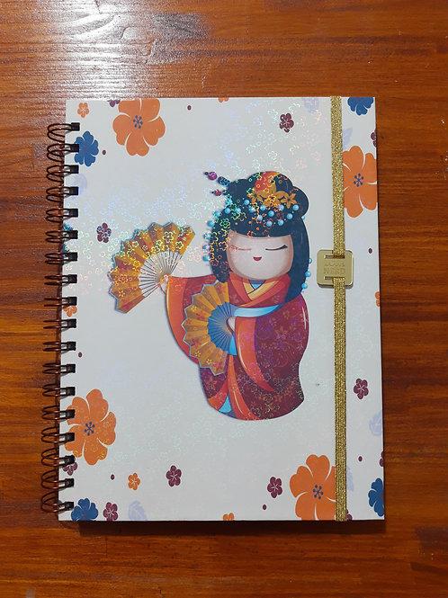 Caderno Kokeshi G