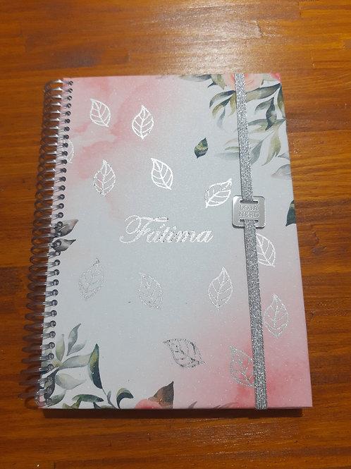 Caderno devocional personalizado