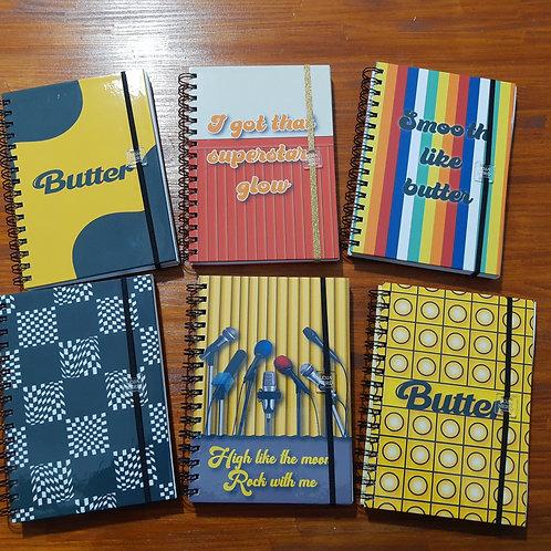 Caderno Butter BTS