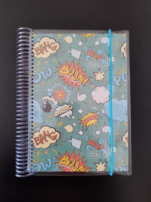 Caderno Comics