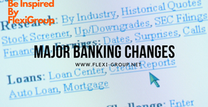 Banking sector - Major changes