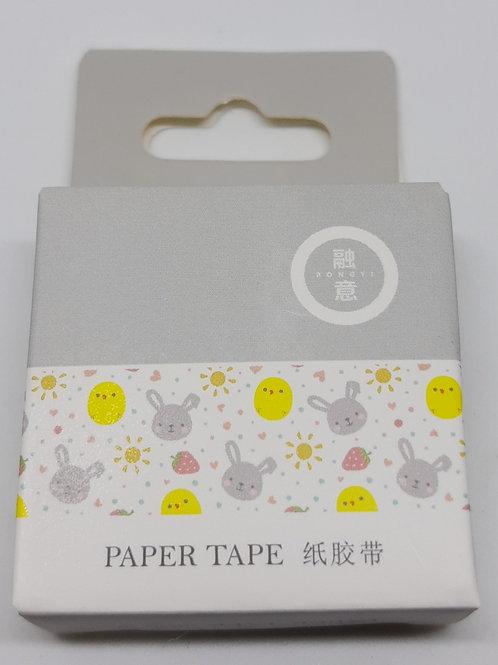 Washi tape coelhinhos