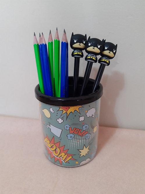 Porta lápis Comics