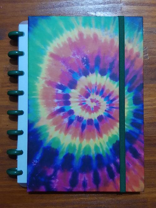 Caderno Criativo Tie Dye Spring