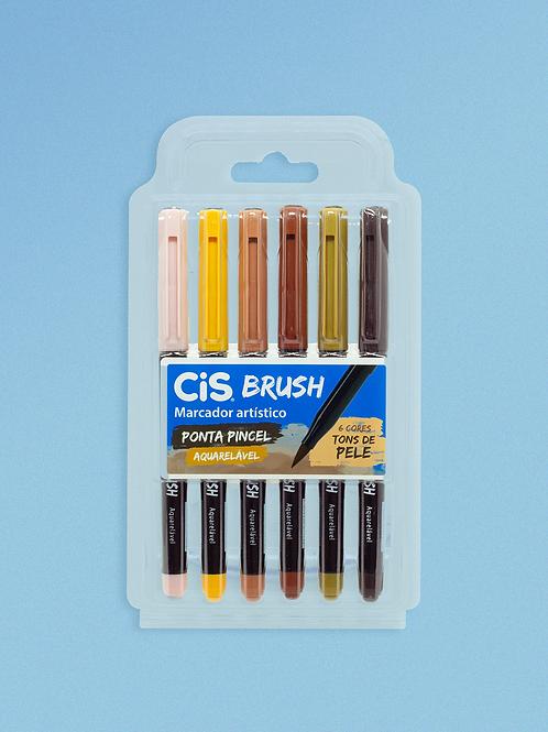 Cis Brush Tons de Pele