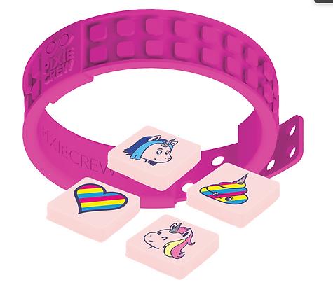 Adjustable Wristband - Unicorn/Fuchsia