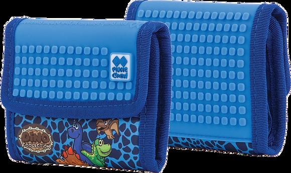 Wallet - Blue Dino