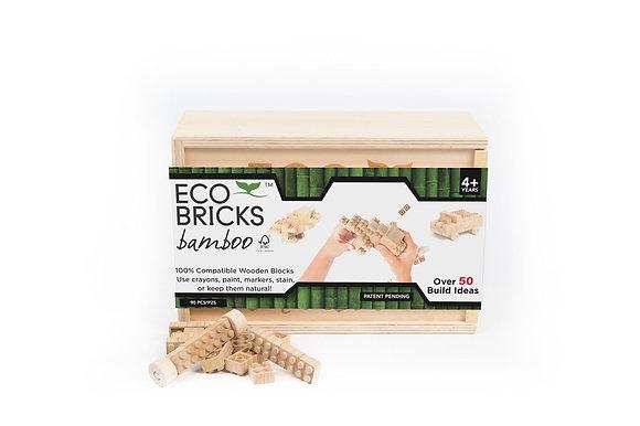 Eco-bricks 90 Piece Bamboo