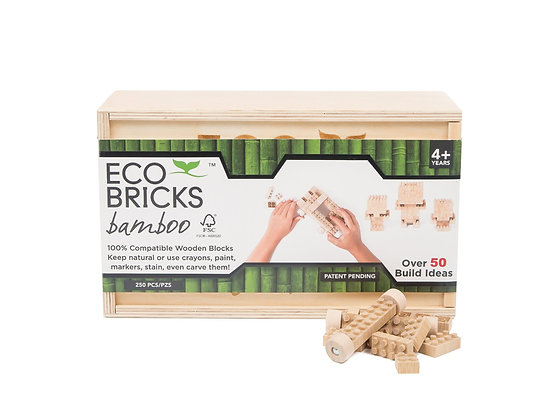 Eco-bricks 250 Piece Bamboo
