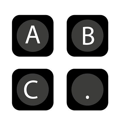Alphabet Letter Pixels