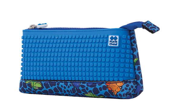Pencil Case - Blue Dino