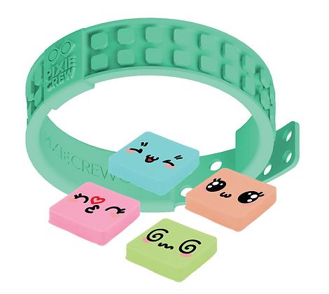 Adjustable Wristband - Kawaii/Turquoise