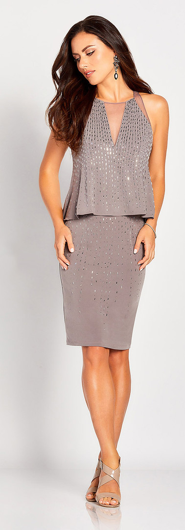 Mother of the Bride Dress, Mother Of the Groom Dress, Mother's dress, Short Dress, Social Occation Dress
