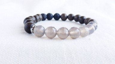 Grey Agate - Strength