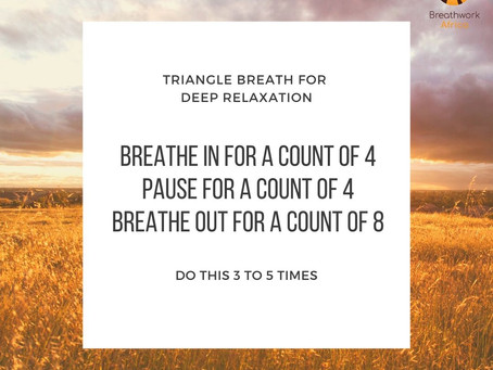 Day 18 - Triangle Breathing