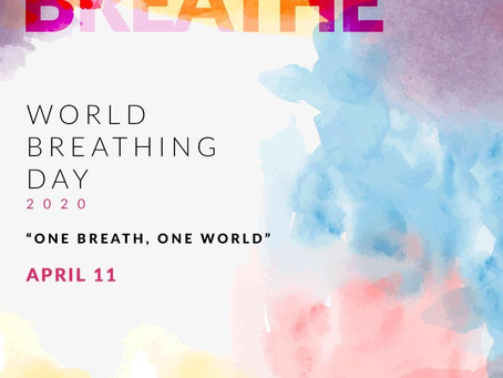 Day 21 - World Breathing Day