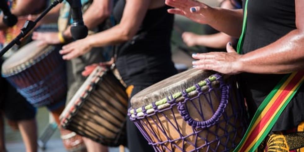 Breathwork & Drumming - Facilitated by Marj Murray