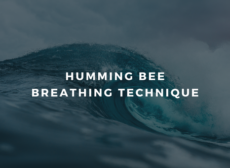 Day 4 - Feeling overwhelmed: Humming Bee Breath