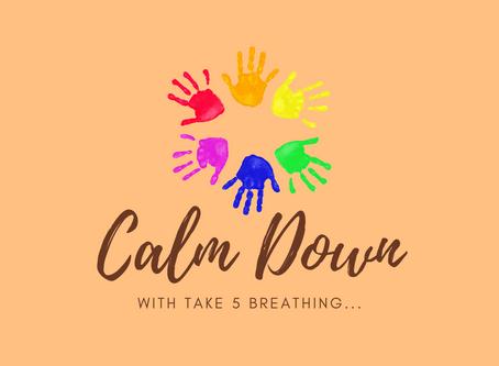 Day 6 - Take 5 Breath for Children