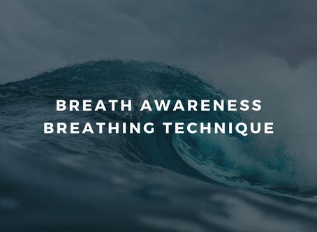 Day 1 - Feeling Safe - Breath Awareness