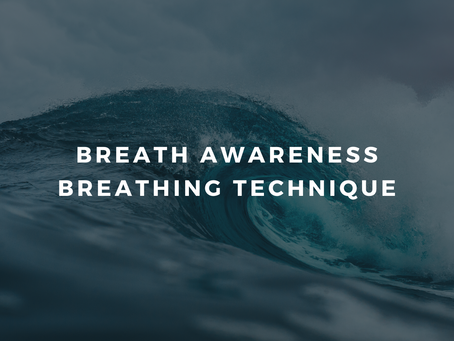 Day 1 - Feeling Safe - Breath Awareness