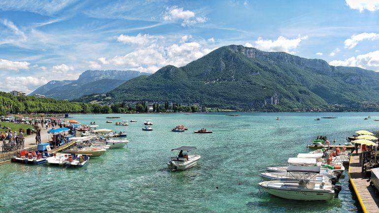 Lac d'Annecy (à 35min)