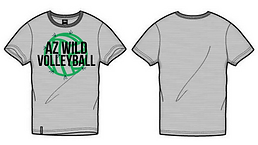 AZ WILD Grey Supporters Tee 2019_20.png