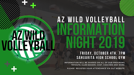 AZ WILD information night 2019 flyer #1.