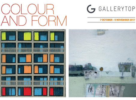 'Colour and Form' now open! 7 October - 5 November.