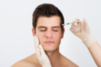 Person Hands Injecting Syringe With Boto