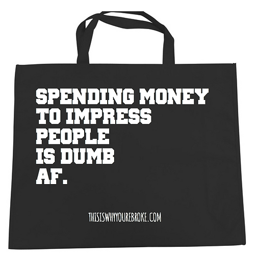 Impress No one/The Motto Tote Bag