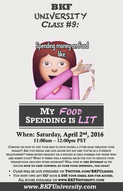 Class 8 - My Food Spending is Lit 1