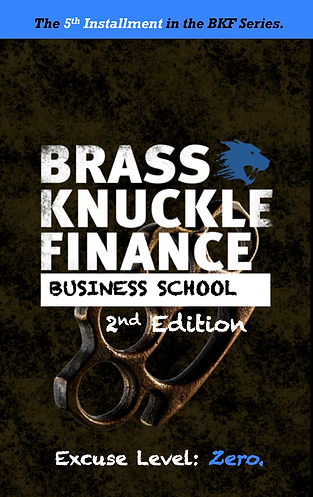 Brass Knuckle Finance Business School - 2nd Edition | eBook