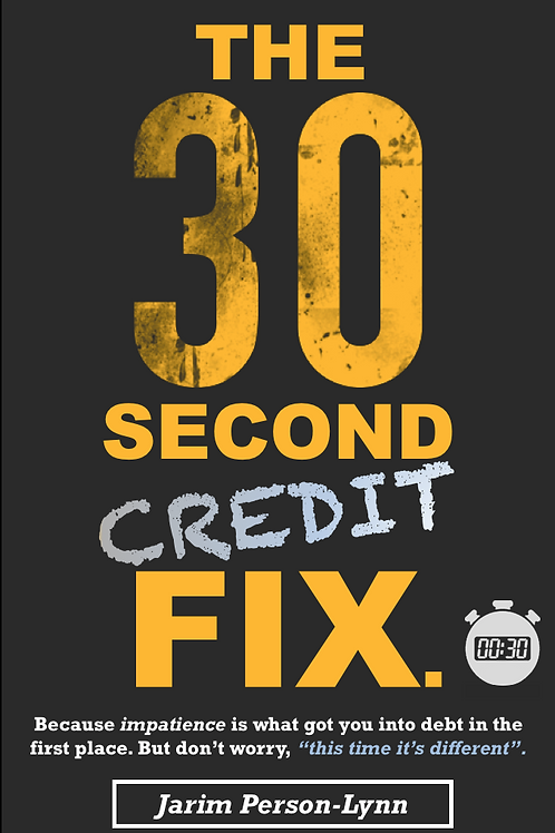 The 30 Second Credit Fix - Paperback